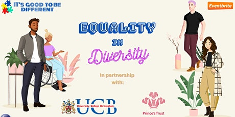 Equality in Diversity Virtual Conference tickets