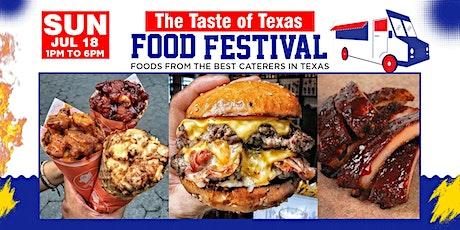 Taste of Texas Food Festival -DFW tickets