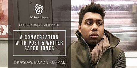 A Conversation with Saeed Jones tickets
