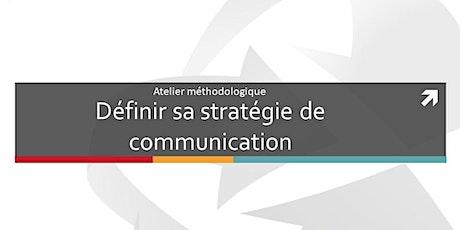 Atelier méthodologique : Définir sa stratégie de communication tickets