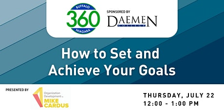BN360 Event:  How do you set and achieve goals? tickets