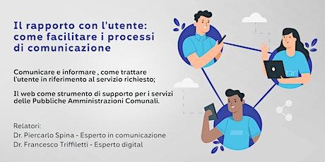 Il rapporto con l'utente: come facilitare i processi di comunicazione biglietti