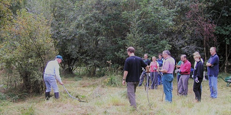 Dunsmore Living Landscape:  Introduction to scything tickets