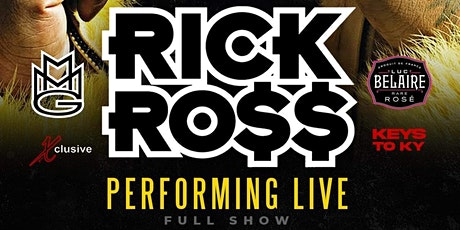 THE EXCLUSIVE DERBY EVENT FEATURING RICK ROSS tickets