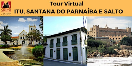 TOUR VIRTUAL: ITU, SANTANA DO PARNAÍBA E SALTO ingressos