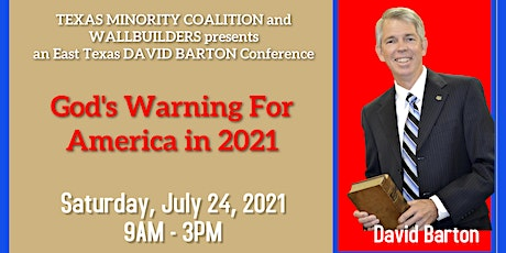 David Barton - God's Warning to America in 2021 tickets