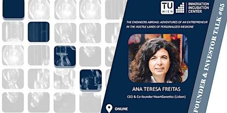 i²c F&I Talk #65:  Ana Teresa Freitas (CEO & Co-founder HeartGenetics) tickets