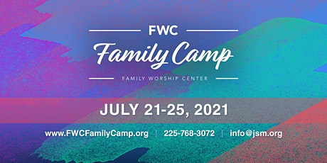FWC Family Camp 2021 tickets