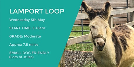 LAMPORT & FAXTON TRAIL | 7.8 MILES | MODERATE| NORTHANTS tickets