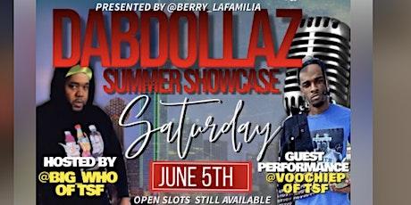 DabDollaz Showcase tickets