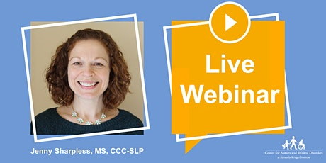 LIVE!  Targeting Core Deficits of Autism in Toddlers tickets