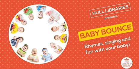 Baby Bounce - Central Library FREE tickets