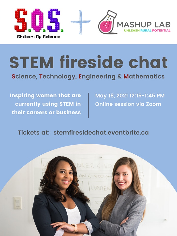 Sisters of Science STEM Fireside Chat image