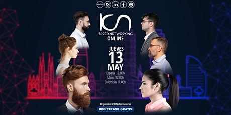 KCN Barcelona Speed Networking Online 13May entradas