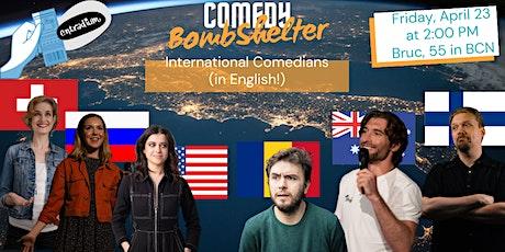 Comedy Bomb Shelter entradas