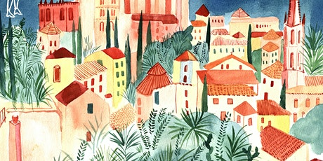 Watercolour Cityscapes (online class) tickets