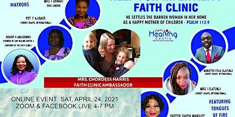 Faith Clinic 8 May 2021 tickets