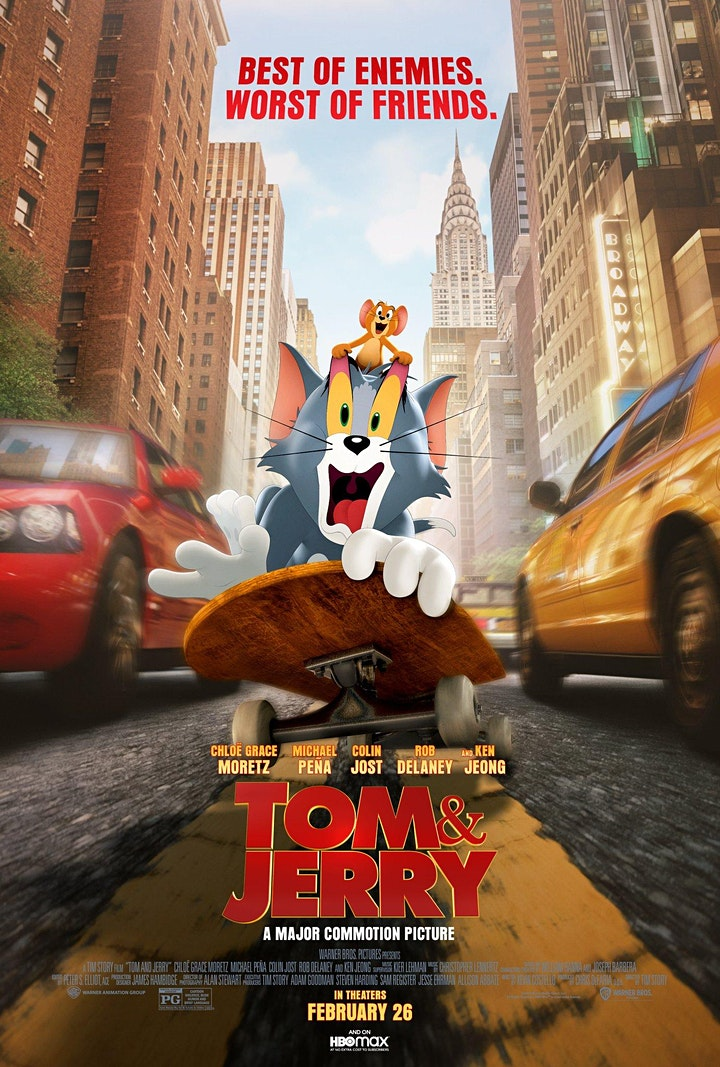 Movies at Medlin: Drive-in Movie Tom & Jerry image