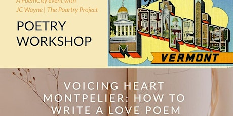 PoemCity Poetry Workshop: How to Write a Love Poem tickets