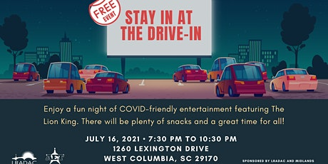 Stay In at the Drive-In tickets