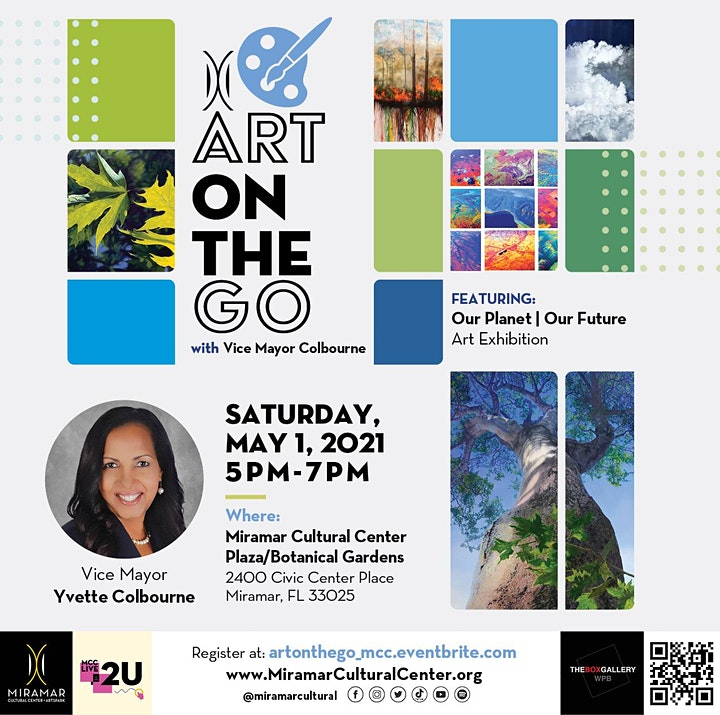 Art on the Go with Vice Mayor Colbourne image