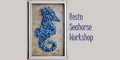 Sea Horse  Resin Frame Workshop tickets