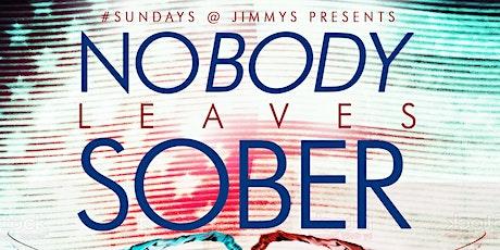 Nobody Leaves Sober, Sunday 2hr Open Bar Brunch, Bdays FREE Champagne Btl. tickets