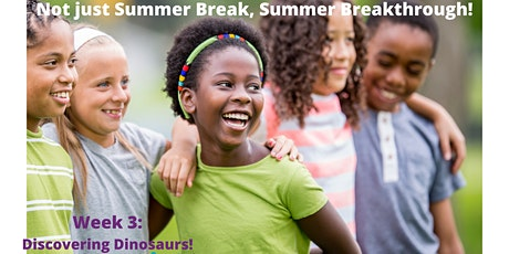 EmpowerME Summer Camps for School-Aged Kids- Wk 3: Discovering Dinosaurs tickets