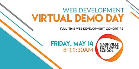 NSS Virtual Demo Day: Web Development Cohort 45 tickets