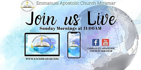 EAC Miramar Sunday Morning 1st Service tickets