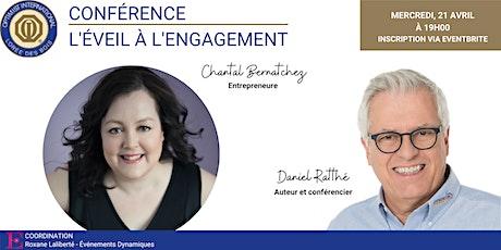Conférence virtuelle: l'éveil à l'engagement! billets