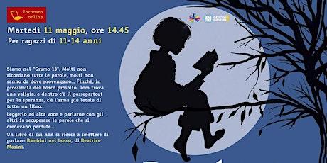 Bambini nel bosco (11-14 anni) > Incontro online biglietti