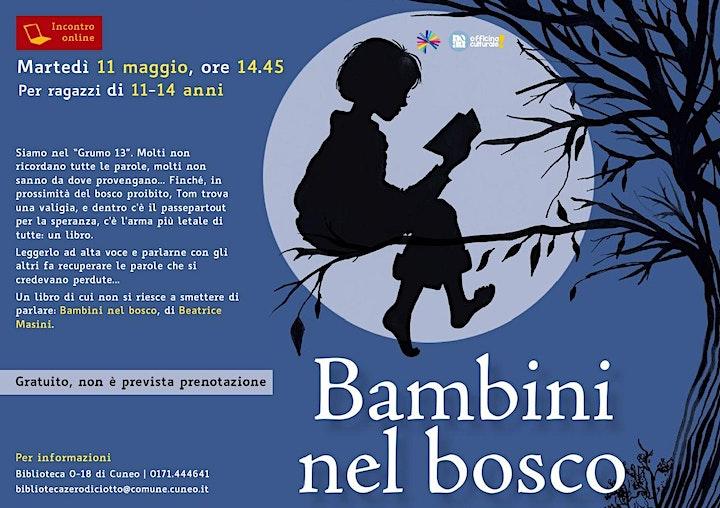 Immagine Bambini nel bosco (11-14 anni) > Incontro online
