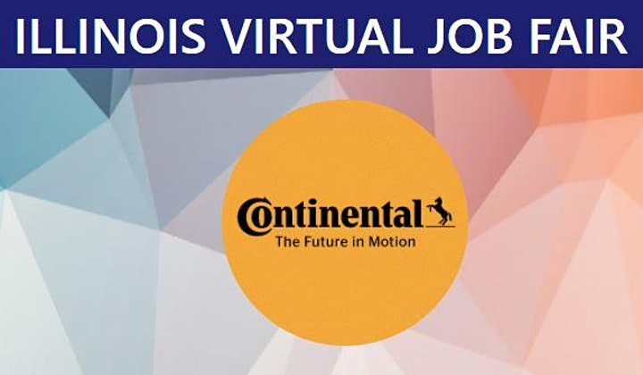 Continental Tire Virtual Job Fair image