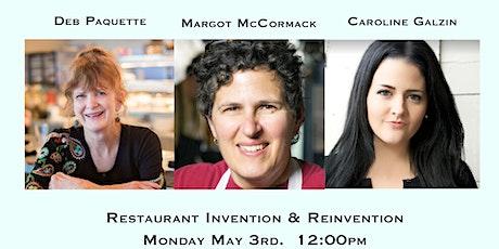 Restaurant Invention and Reinvention tickets