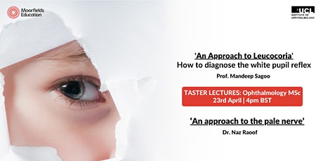Ophthalmology Taster Lectures tickets