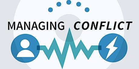 Managing Conflict, Enabling Collaboration Taster Session billets