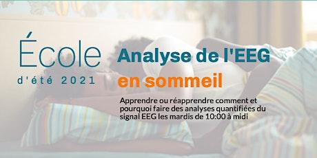 École d'été 2021 - Analyse de l'EEG en sommeil billets