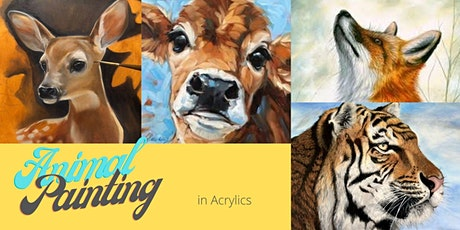 Learning to Paint Furry Animals - For everyone age 10+ tickets