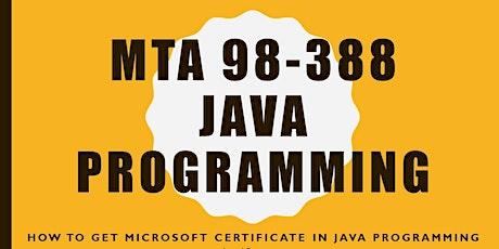 MTA 98-388: Java Programming Language Overview (FREE Webinar) tickets