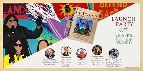 Launch of Listening to Indigenous Voices tickets