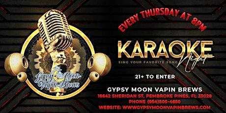 Karaoke Night Thursday tickets