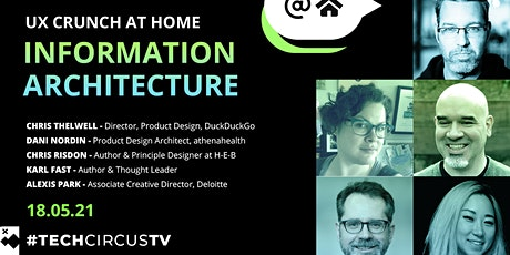 UX Crunch at Home - Information Architecture biglietti