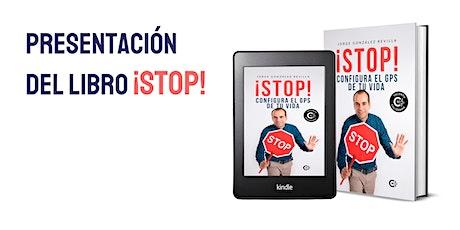 Presentación del libro ¡STOP! Configura el GPS de tu vida - Jorge González entradas