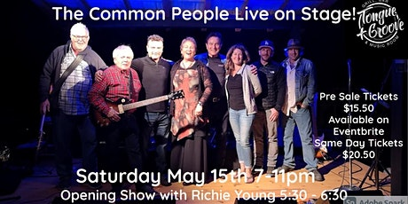 The Common People Live!  Opening show by Richie Young tickets