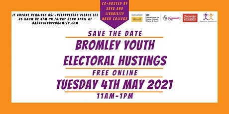 Online Bromley Youth Electoral Hustings event tickets