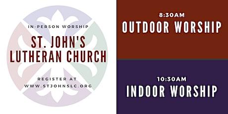 Indoor & Outdoor Worship at St. John's Lutheran Church tickets