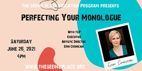 Actors: Perfecting Your Monologue tickets