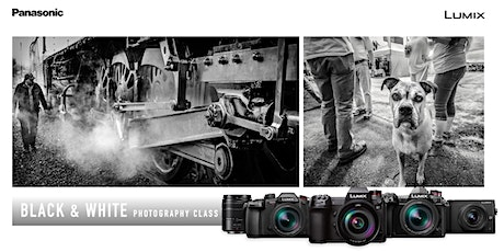 Black and White - From Film to Digital - Online w/Lumix tickets
