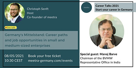 Career Talks: Germany's Mittelstand - Career paths and job opportunities Tickets